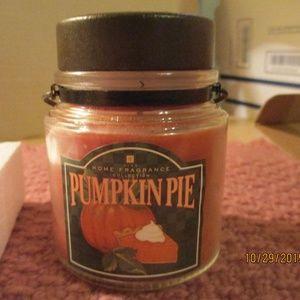 Avon Pumpkin Pie Candle Jar 2006 RARE